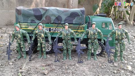 Toy soldiers Army men Playset & Military Transport Truck