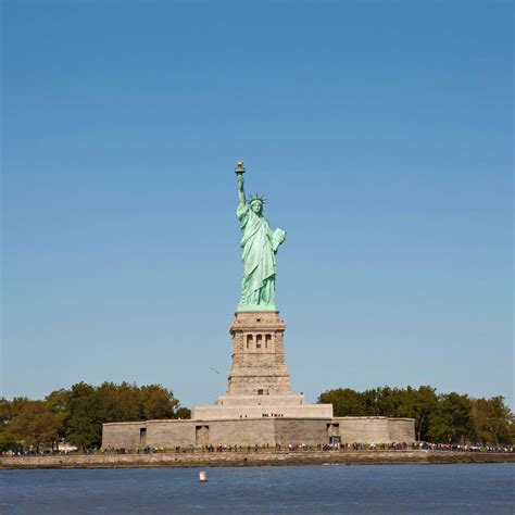 The Statue of Liberty: the symbol of New York