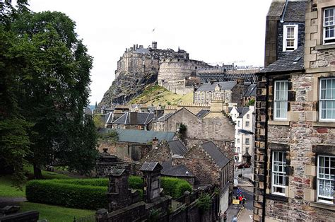 Edinburgh Castle, from The Elephant House | This is one of