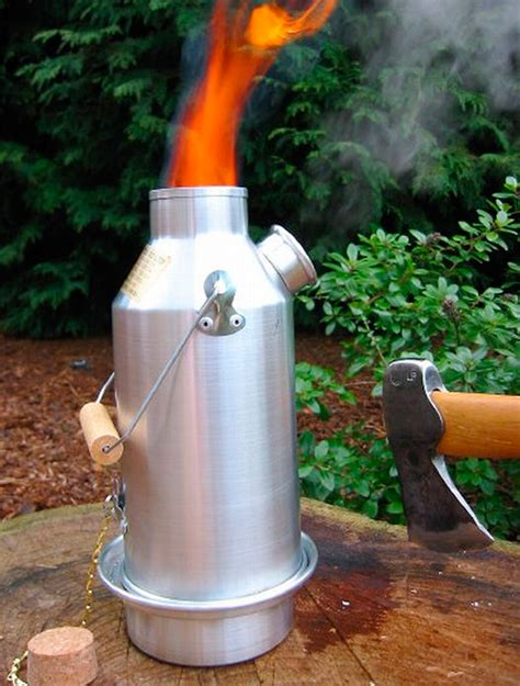 Kelly Kettle Scout, Eco Friendly Camping Stoves   Boundary