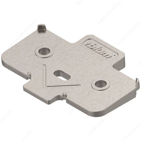 Angled Spacer for Mounting Plate - Richelieu Hardware