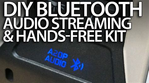 DIY bluetooth handsfree kit & A2DP music streaming in your