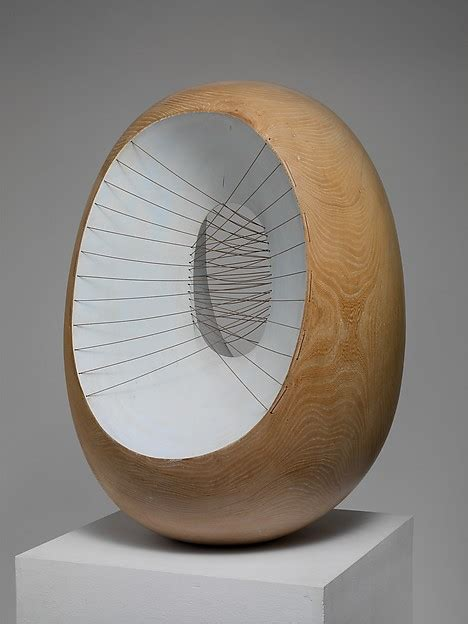 Barbara Hepworth   Oval Form with Strings and Color   The Met